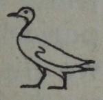 Goose Heiroglyph