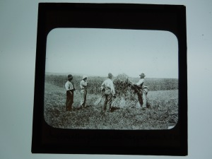 Instructing students, Wagga Farm, New South Wales, Australia, early 20th century