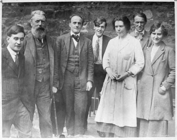 Walton, Thompson, Kammerer, Hogben, Fell, Crew, Cytovich 1924